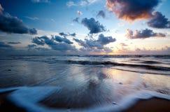 strandnatt Arkivbild