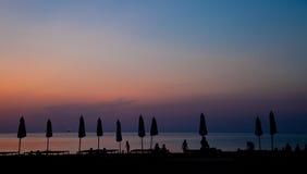 strandnatt Fotografering för Bildbyråer