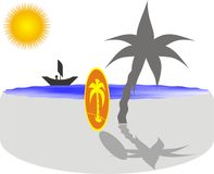 strandnatur Arkivfoton