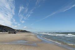 strandoklarheter över Royaltyfri Fotografi