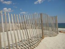 Strandomheining op de Kust van New Jersey Royalty-vrije Stock Foto's