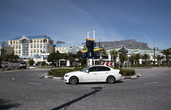 Strandområde Cape Town Sydafrika Royaltyfri Bild