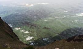 Strandoverzicht stock fotografie