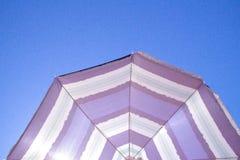 Strandparaplu 2 Royalty-vrije Stock Fotografie