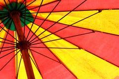 strandparaply Royaltyfri Bild
