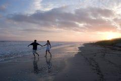 strandparbarn Royaltyfri Fotografi