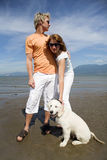 strandparbarn Royaltyfria Bilder