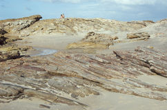 strandparrocks Royaltyfria Foton