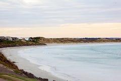Strandpartij die in Port Fairy Australië leven royalty-vrije stock foto's