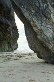 Strandpassage Arkivfoto