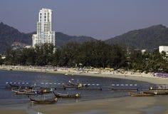 strandpatong thailand Royaltyfria Bilder