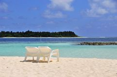 strandplats Royaltyfri Foto