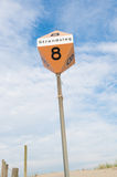 Strandpol Royaltyfri Foto