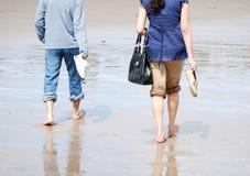 strandpromenad royaltyfria foton