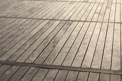 Strandpromenad Royaltyfri Foto