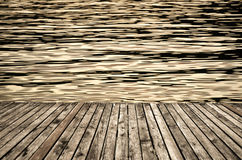 Strandpromenadbakgrund royaltyfri foto