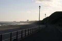 Strandpromenade Lizenzfreie Stockfotos