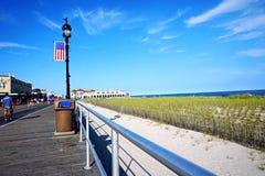 Strandpromenaden Arkivfoton