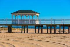 StrandpromenadGazebo Royaltyfria Bilder