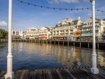 Strandpromenadhotell, Disney värld Royaltyfria Bilder