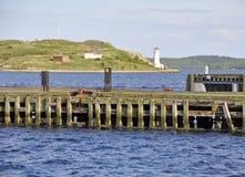 Strandpromenadsikt Halifax Royaltyfri Bild