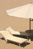 Strandregenschirm Stockfotos
