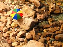 Strandregenschirm Stockbilder