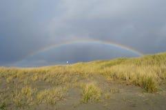 Strandregnbåge Arkivbilder
