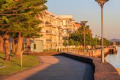 Strandremsalägenheter Royaltyfri Bild