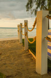 Strandreplinje på polen Royaltyfri Bild