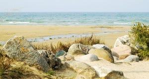strandrocks Royaltyfri Fotografi
