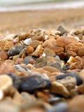 Strandrotsen stock afbeeldingen