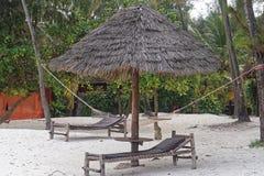 Strandsäng Arkivbild