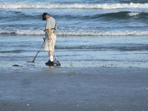 strandsökande Royaltyfri Foto