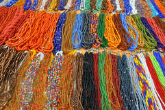 Strands Of Beads Stock Images