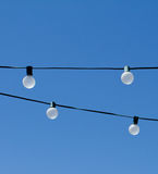 Strands of Light Bulbs Royalty Free Stock Photos