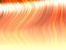 Strands of orange hair Stock Images
