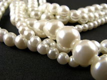 Strands of Pearls Royalty Free Stock Images