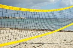 Strandsalvennetz lizenzfreie stockfotos