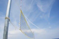 Strandsalvo netto op een zandig strand Royalty-vrije Stock Fotografie