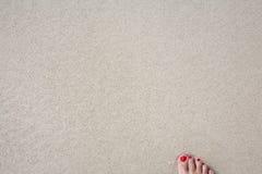 Strandsand Lizenzfreies Stockbild