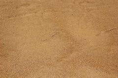 Strandsand und Meerwasser Lizenzfreies Stockbild