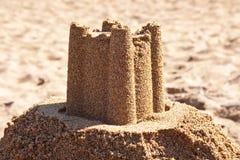 strandsandcastle Royaltyfri Fotografi