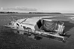 Strandsatt arkivfoto