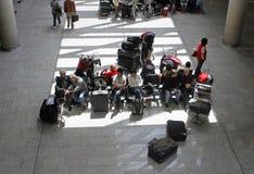 Strandsatta passagerare 011 för flygplats Arkivbilder