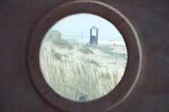 Strandscène Stock Foto