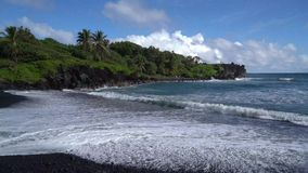 Strandscène in Maui Hawaï stock video
