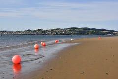 Strandscène van Schotse Firth royalty-vrije stock afbeelding
