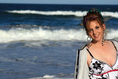 Strandschönheit Stockfotos