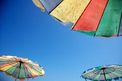 Strandschirm Stockbilder